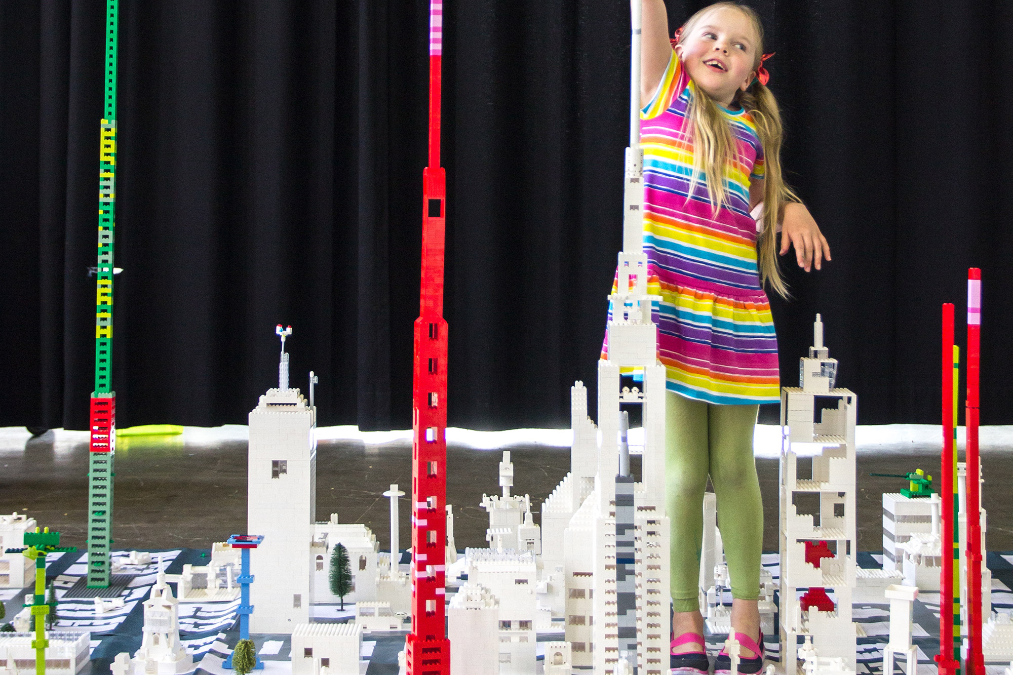 Lego Tower Workshop