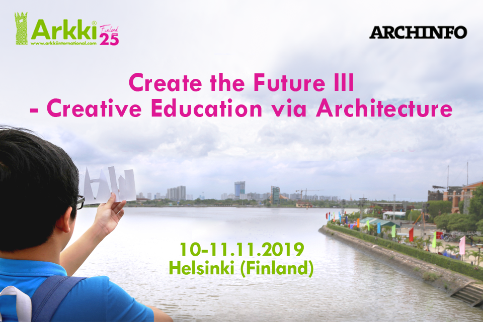 Arkki co-organizes the 3rd edition international conference on creative education